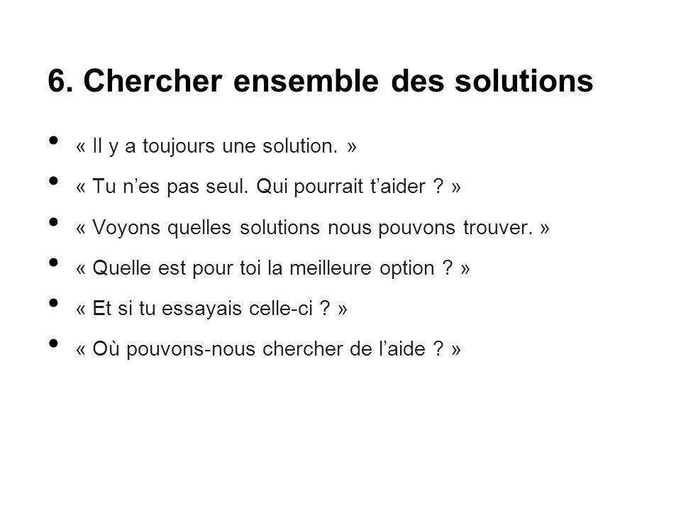 6. Chercher ensemble des solutions