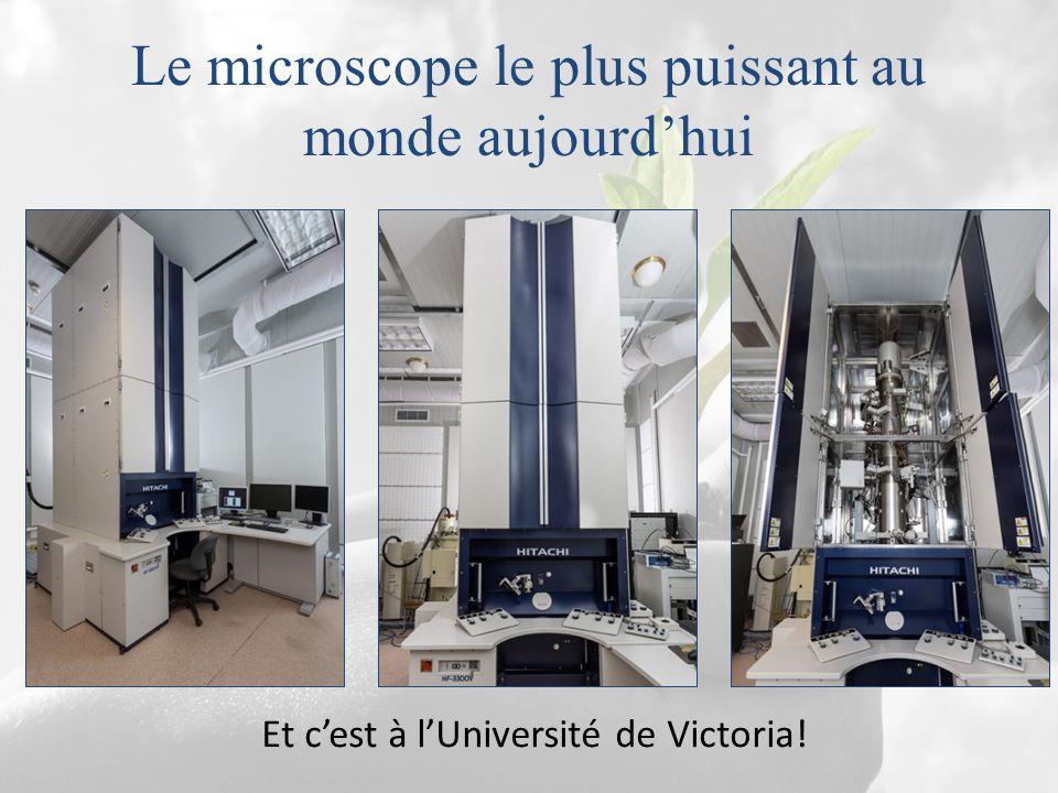 Le microscope le plus puissant au monde aujourd'hui