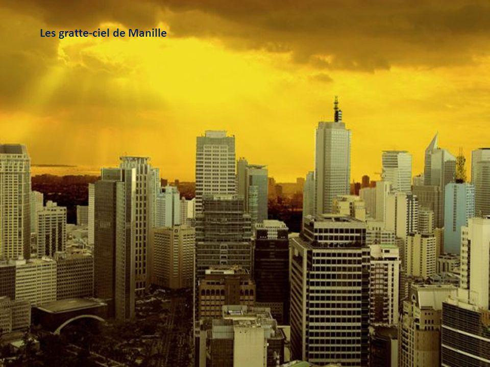 Les gratte-ciel de Manille