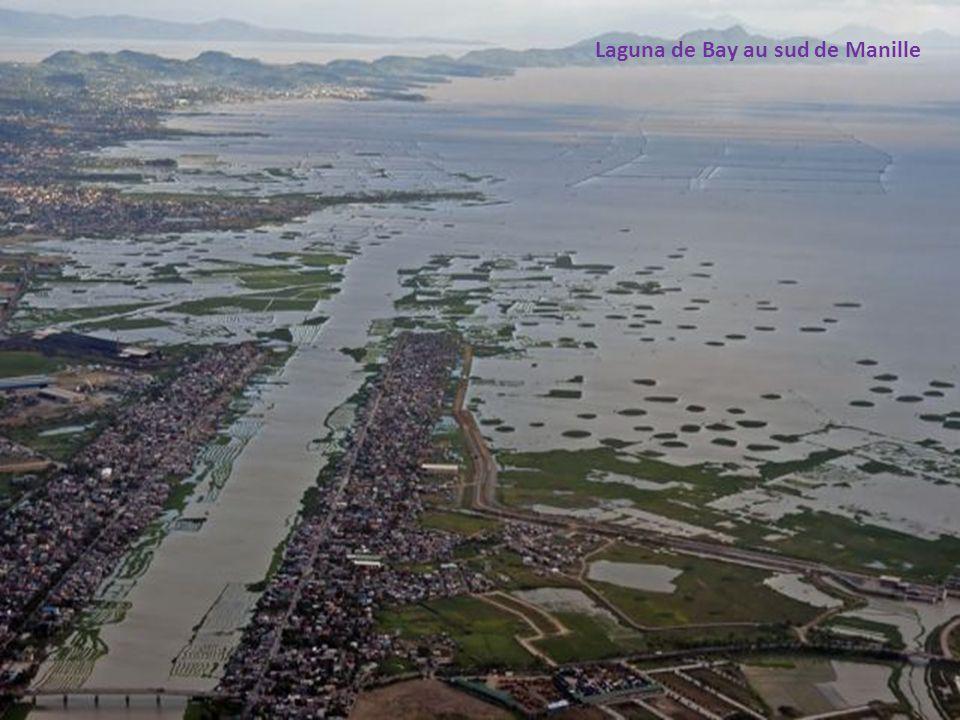 Laguna de Bay au sud de Manille