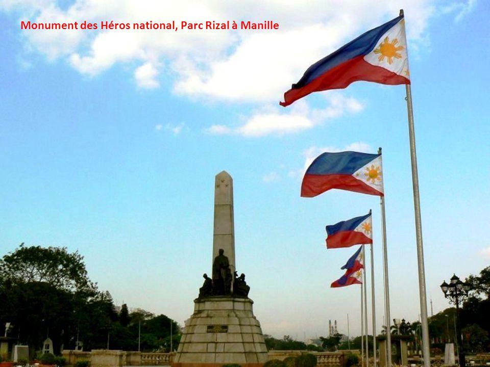 Monument des Héros national, Parc Rizal à Manille