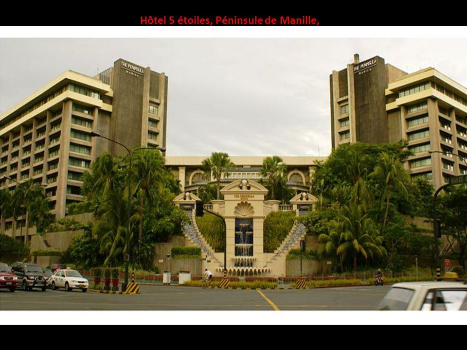 Hôtel 5 étoiles, Péninsule de Manille,