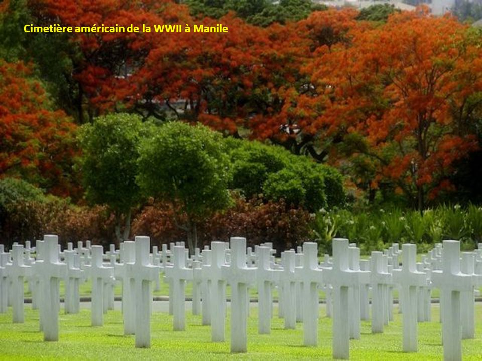 Cimetière américain de la WWII à Manile