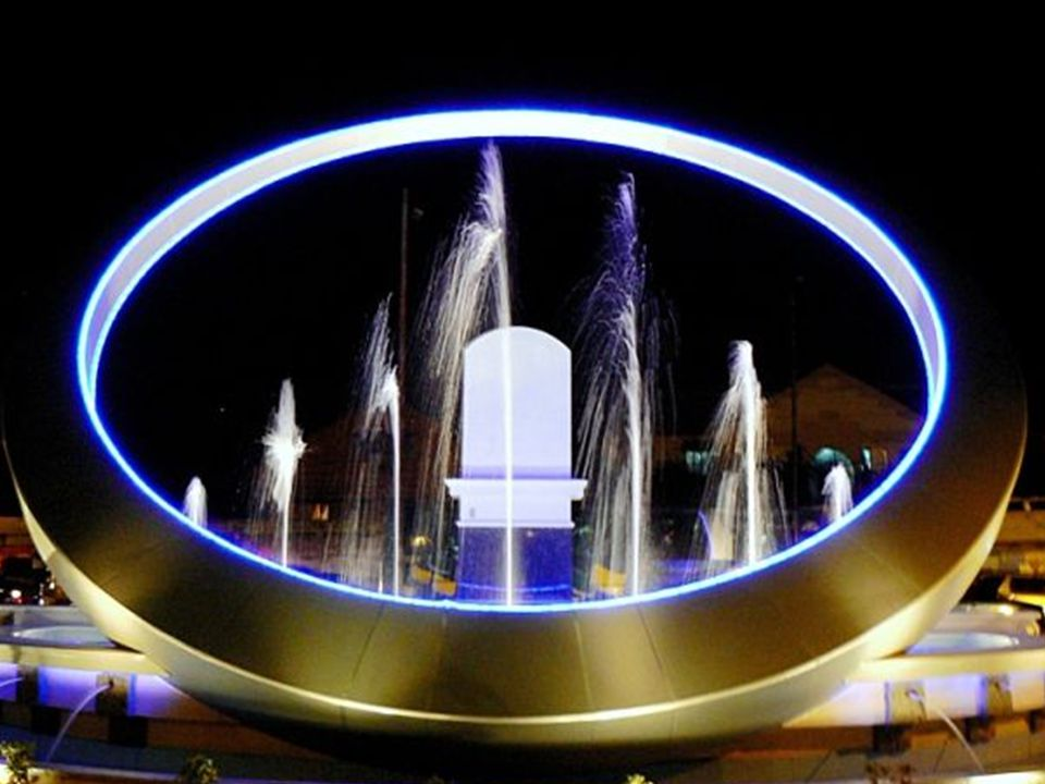 Une fontaine à Manille