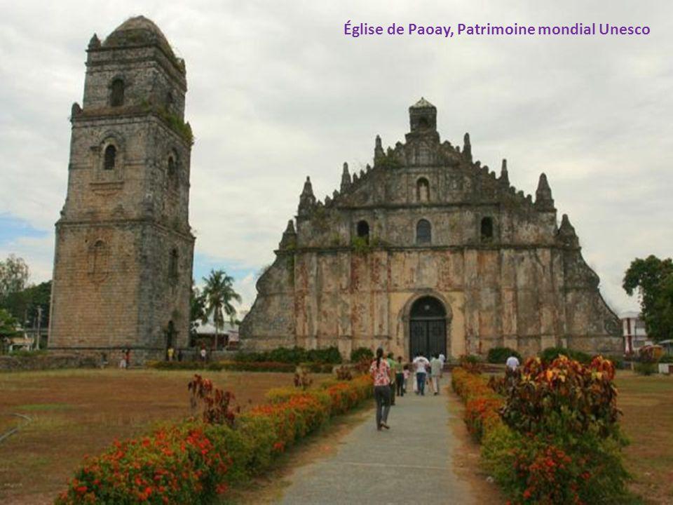 Église de Paoay, Patrimoine mondial Unesco