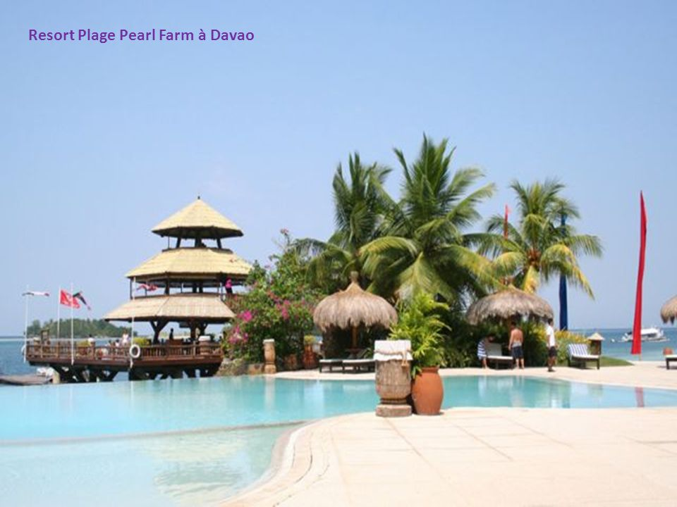 Resort Plage Pearl Farm à Davao