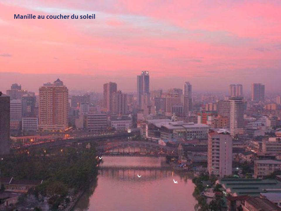 Manille au coucher du soleil