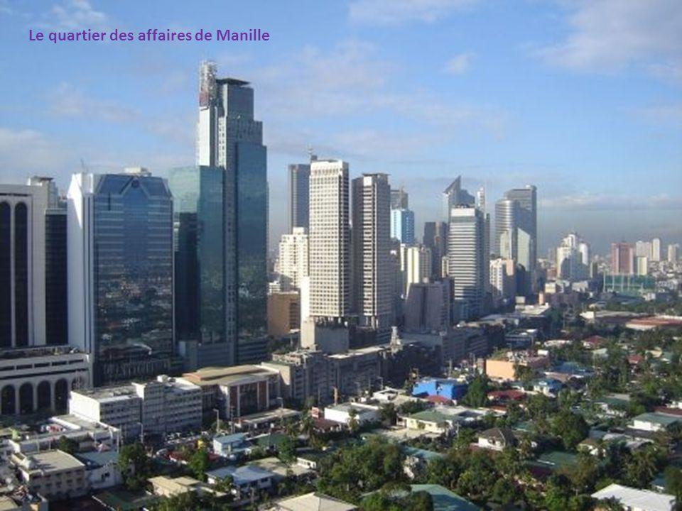 Le quartier des affaires de Manille