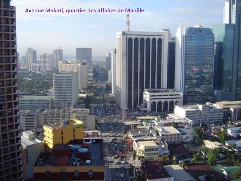 Avenue Makati, quartier des affaires de Manille