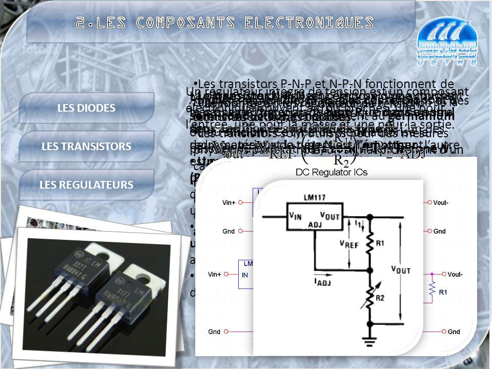 2.LES COMPOSANTS ELECTRONIQUES