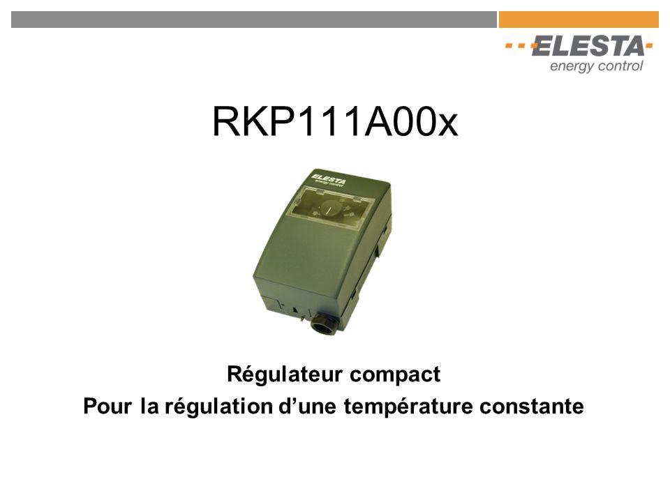 Régulateur compact Pour la régulation d'une température constante