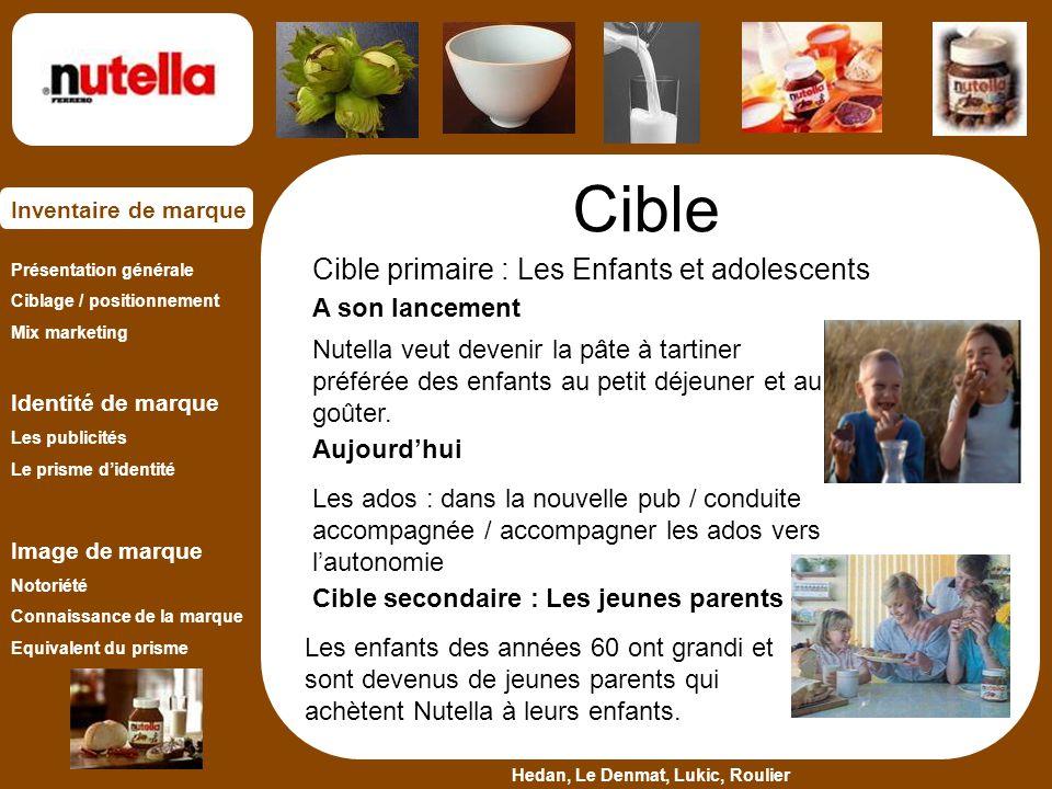 Cible Cible primaire : Les Enfants et adolescents A son lancement