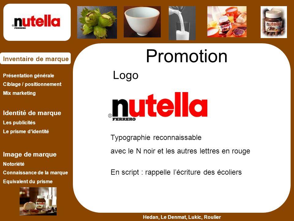 Promotion Logo Typographie reconnaissable