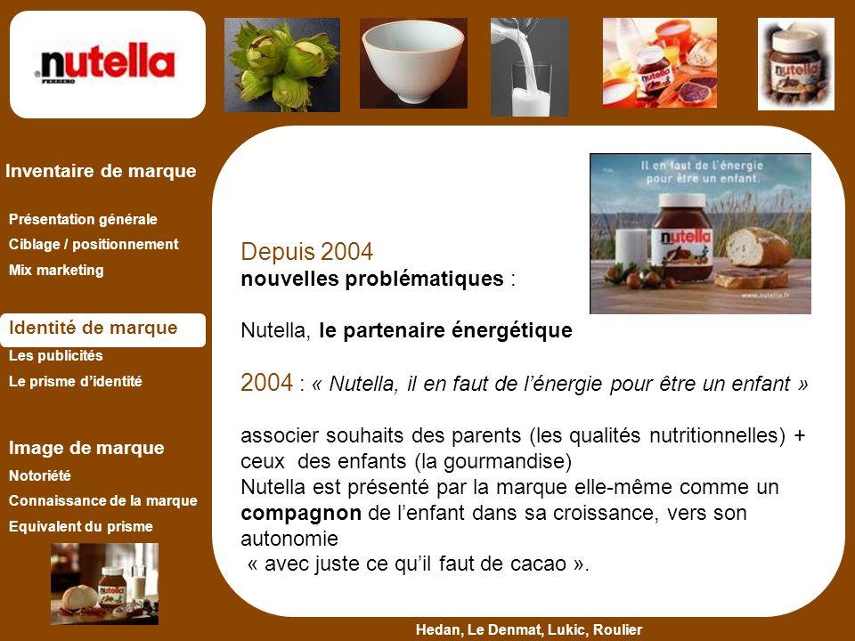 2004 : « Nutella, il en faut de l'énergie pour être un enfant »