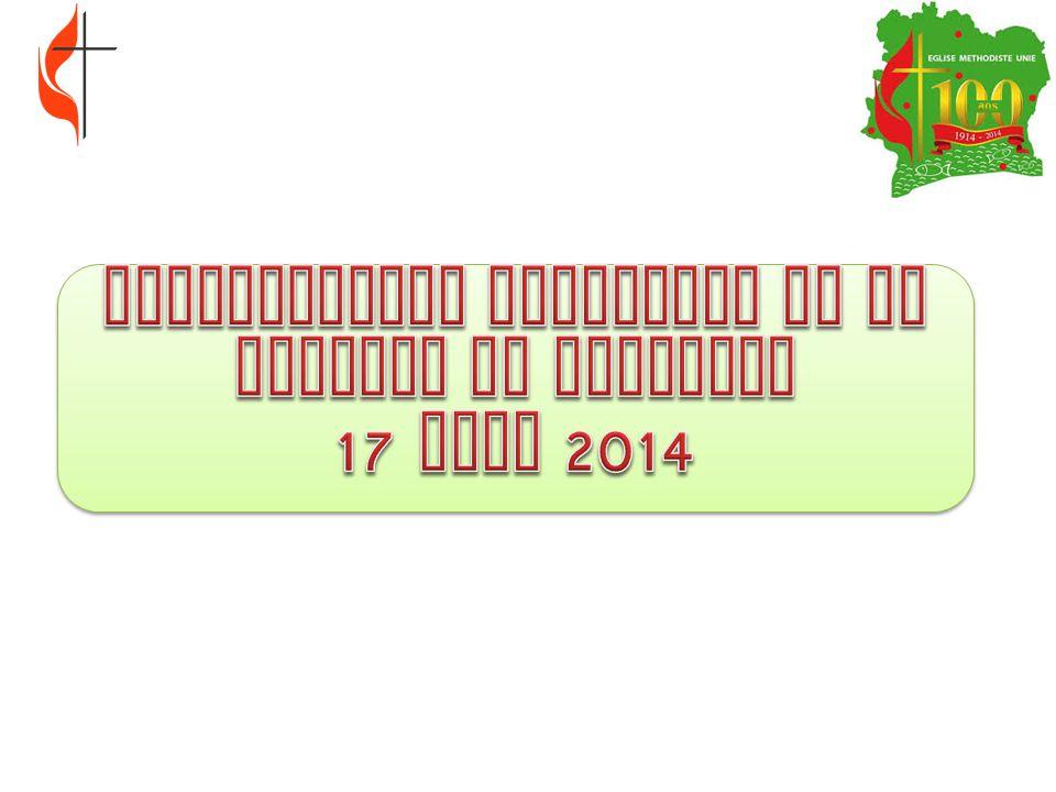 DISPOSITIONS PRATIQUES DE LA JOURNEE DU DIMANCHE 17 AOUT 2014
