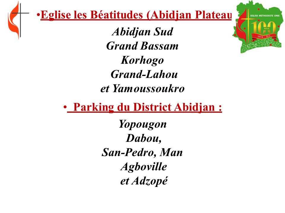 Parking du District Abidjan :