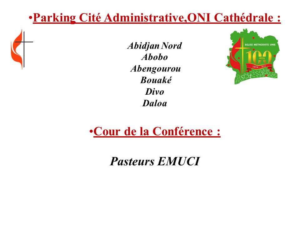 Parking Cité Administrative,ONI Cathédrale :