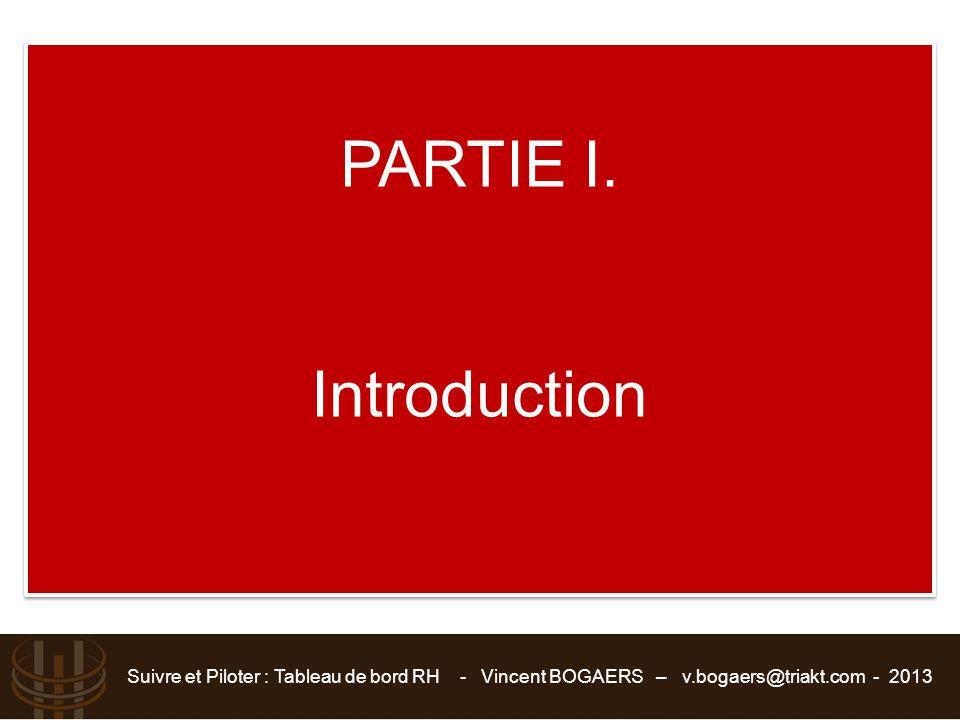 PARTIE I. Introduction