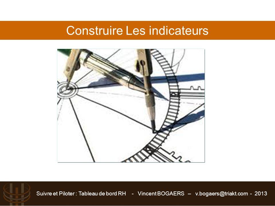 Construire Les indicateurs