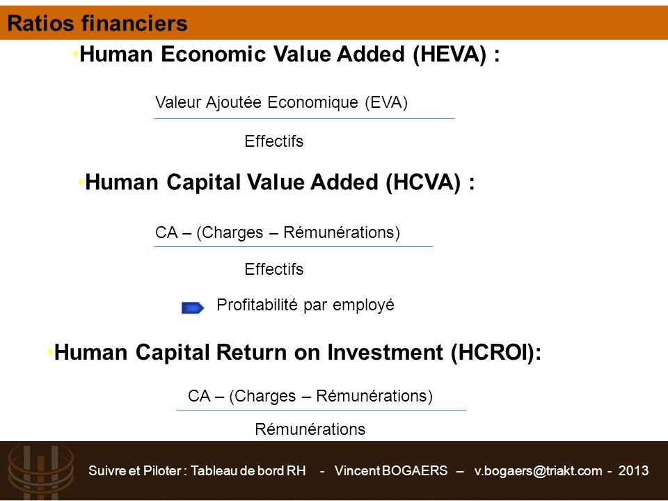 Human Economic Value Added (HEVA) :