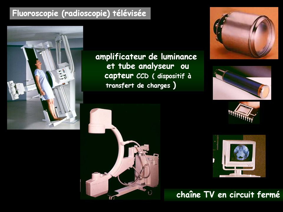 amplificateur de luminance capteur CCD ( dispositif à