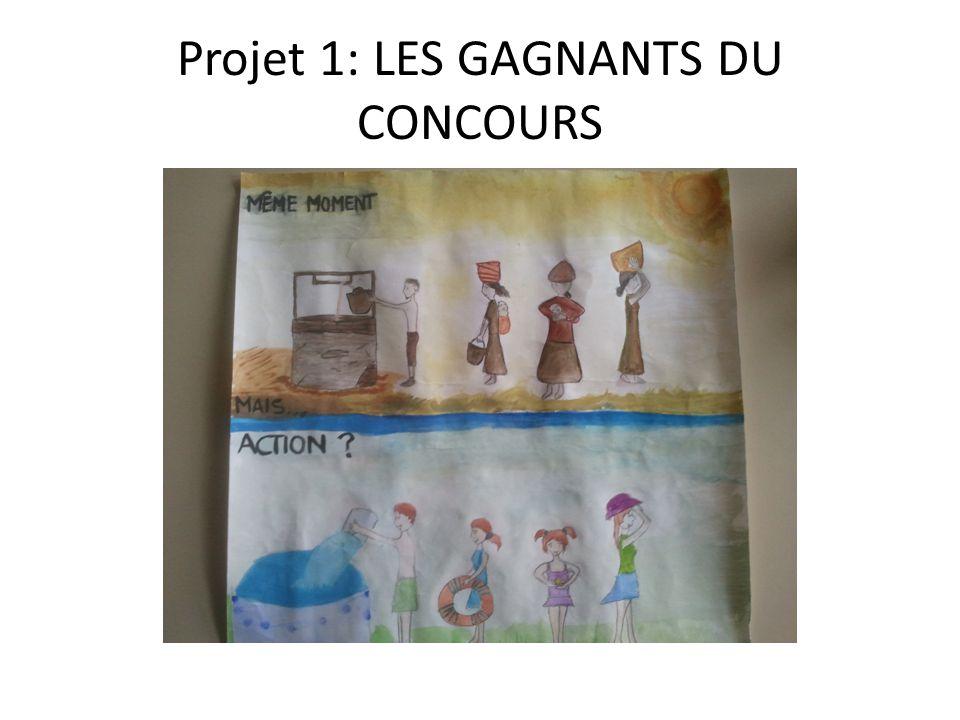 Projet 1: LES GAGNANTS DU CONCOURS