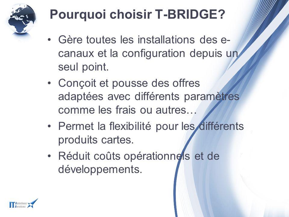 Pourquoi choisir T-BRIDGE