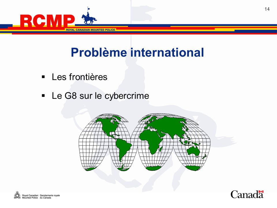 Problème international
