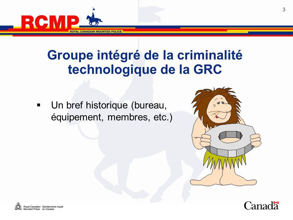 Groupe intégré de la criminalité technologique de la GRC