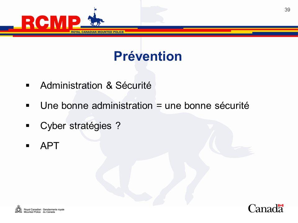 Prévention Administration & Sécurité