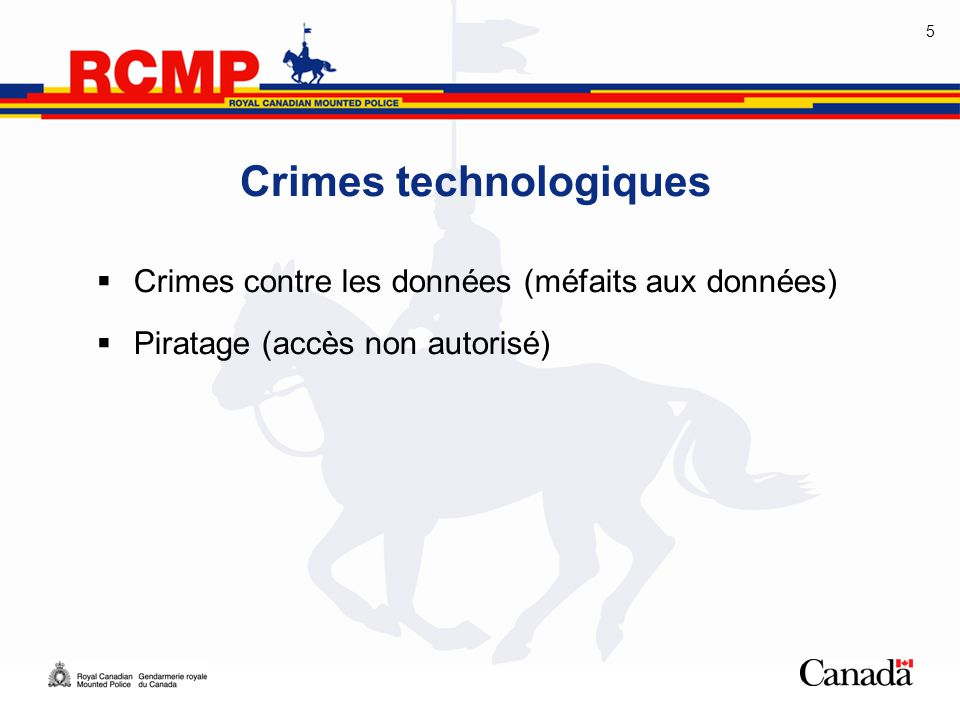 Crimes technologiques