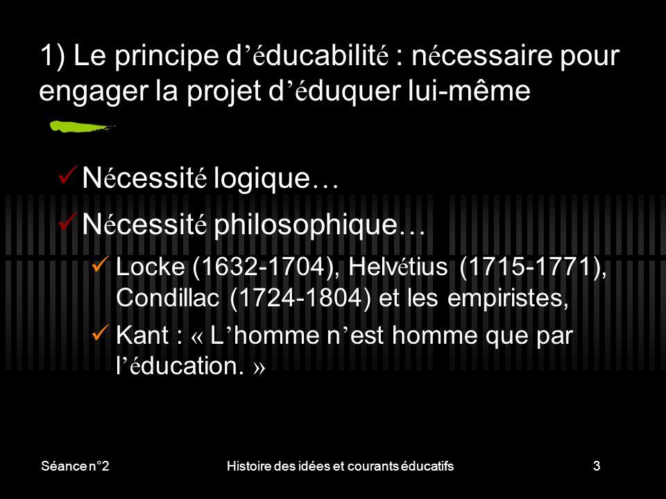 Histoire des idées et courants éducatifs