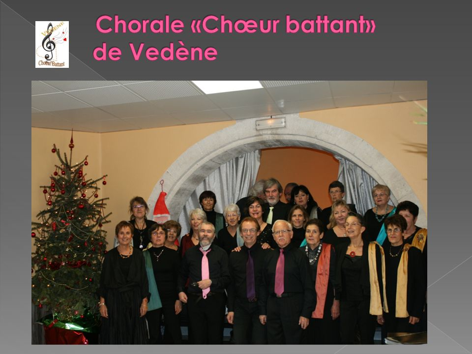 Chorale «Chœur battant» de Vedène