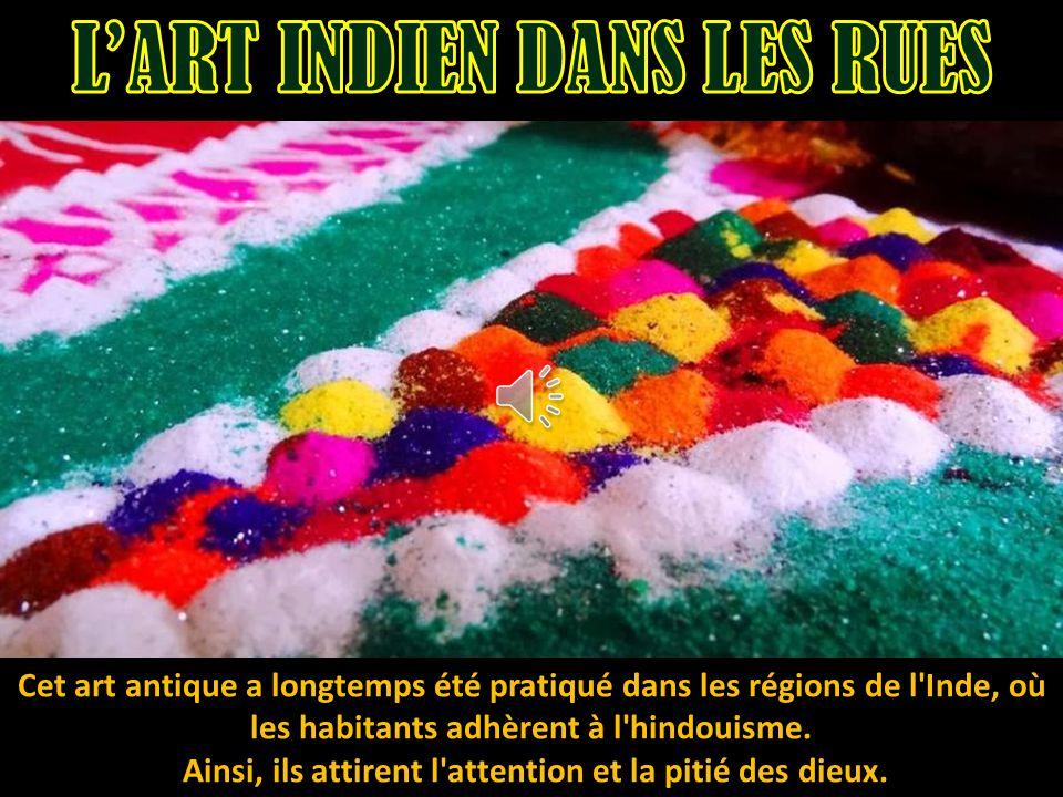 L'ART INDIEN DANS LES RUES
