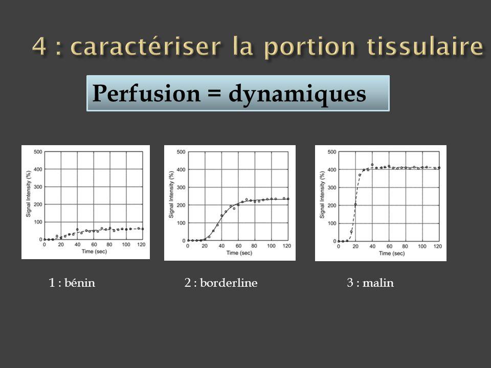 4 : caractériser la portion tissulaire