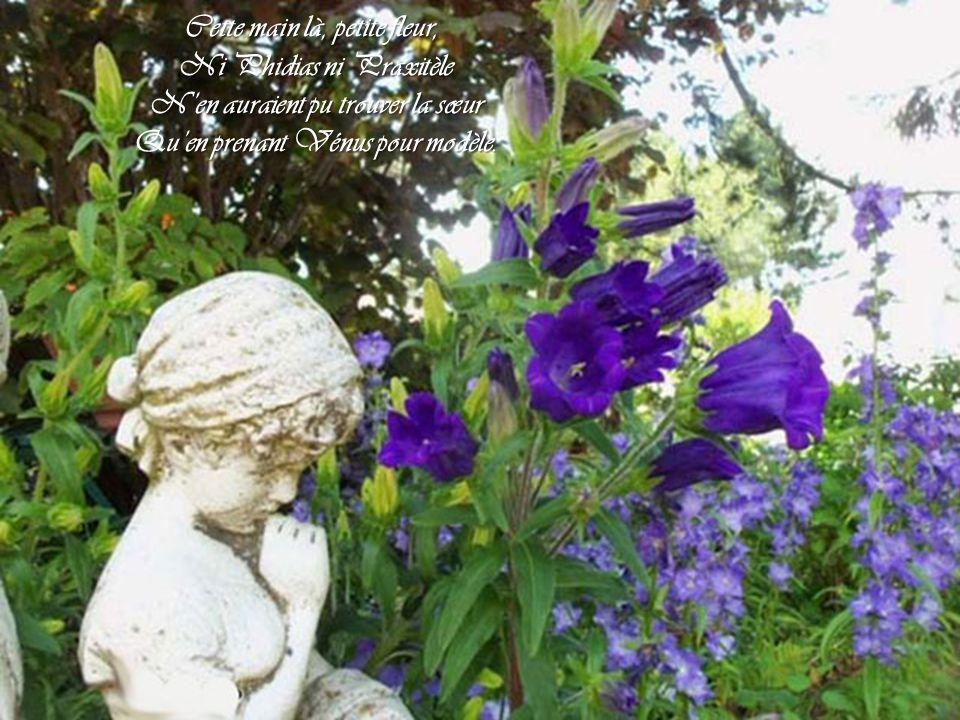 Cette main là, petite fleur, Ni Phidias ni Praxitèle