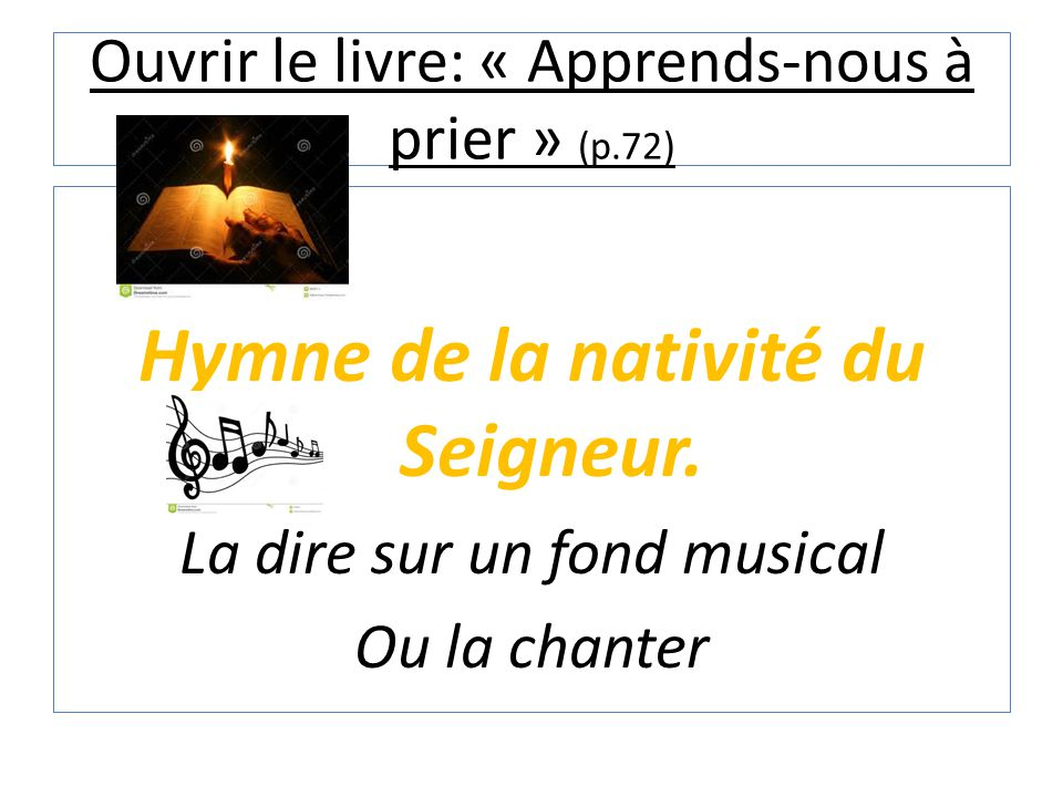Ouvrir le livre: « Apprends-nous à prier » (p.72)