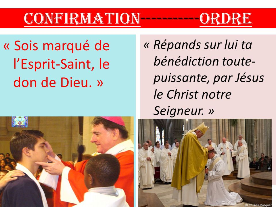 Confirmation ORDRE