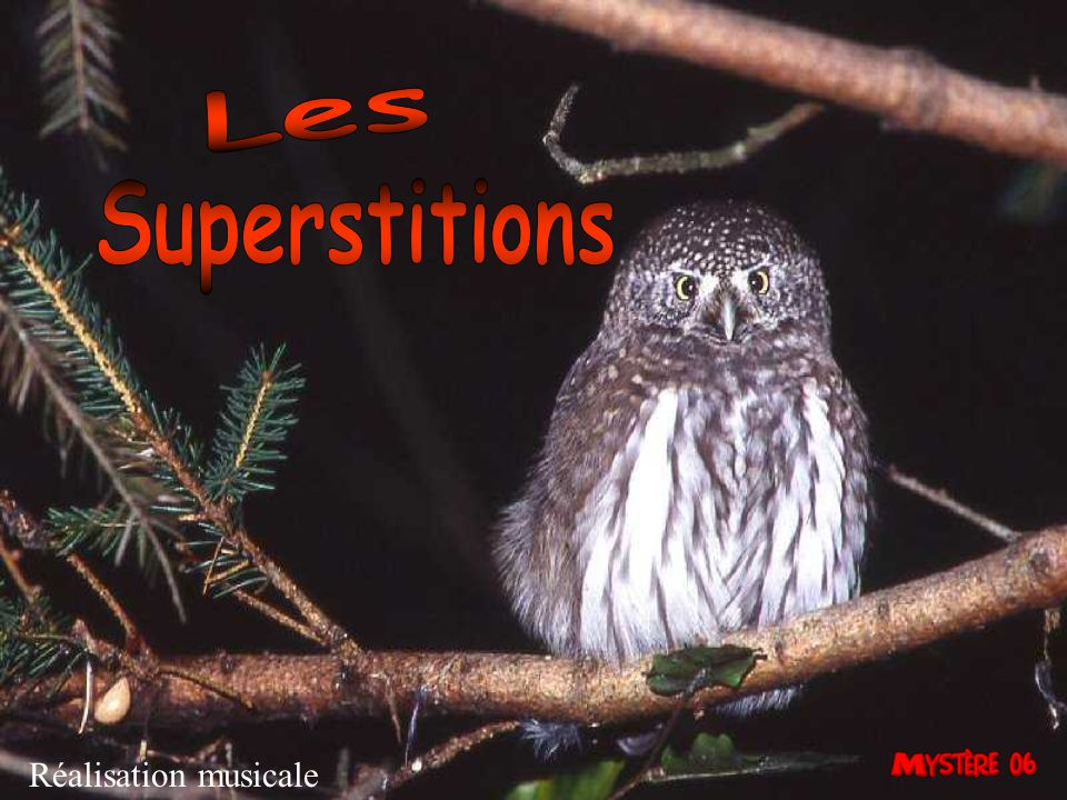 Les Superstitions Réalisation musicale