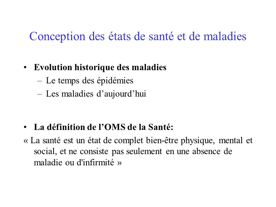 Principes g n raux de sant publique ppt t l charger - Definition de conception ...
