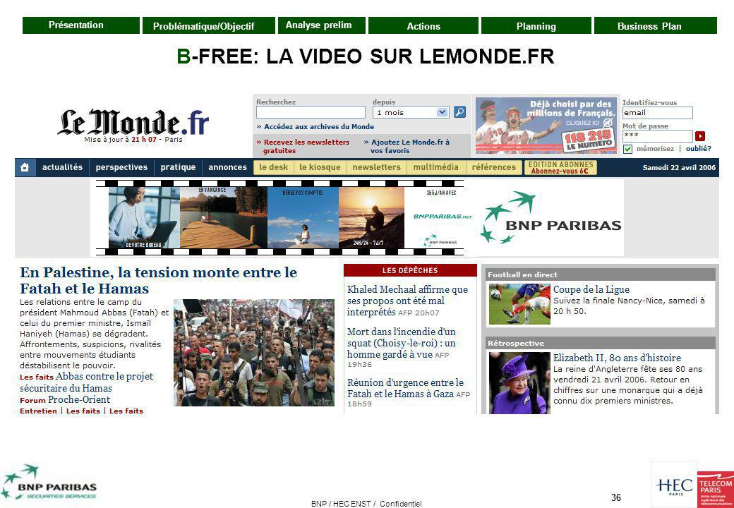 B-FREE: LA VIDEO SUR LEMONDE.FR