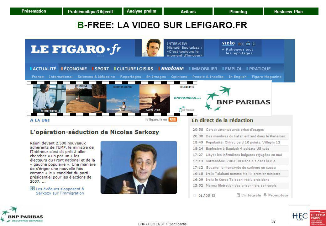 B-FREE: LA VIDEO SUR LEFIGARO.FR