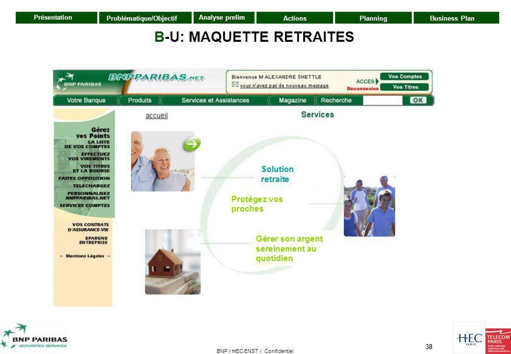 B-U: MAQUETTE RETRAITES