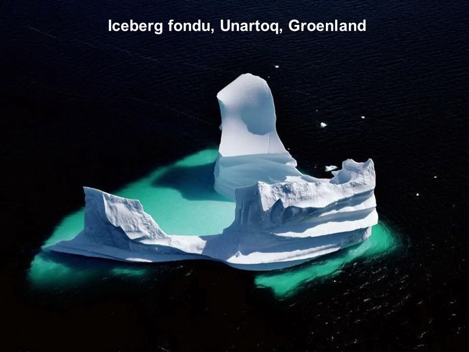 Iceberg fondu, Unartoq, Groenland