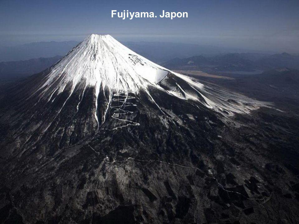 Fujiyama. Japon