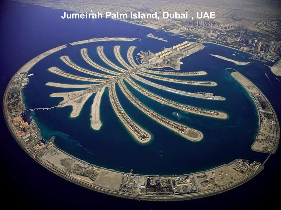 Jumeirah Palm Island, Dubai , UAE