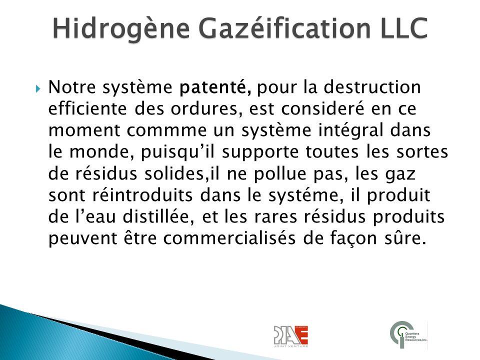 Hidrogène Gazéification LLC