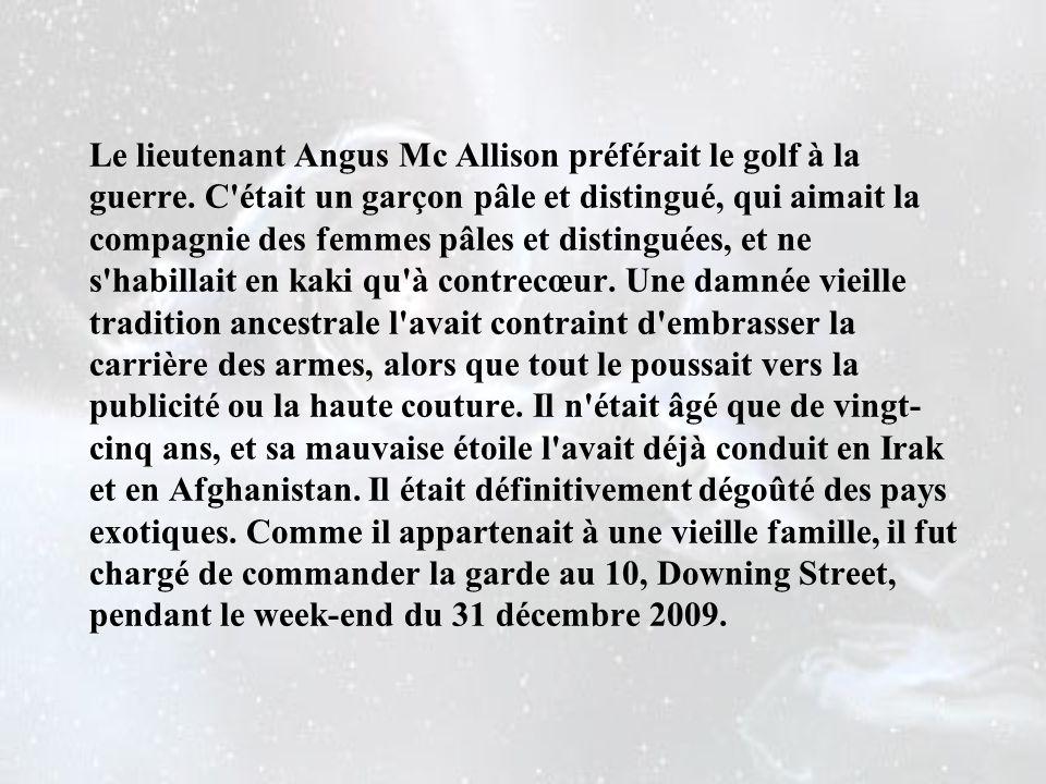 Le lieutenant Angus Mc Allison préférait le golf à la guerre