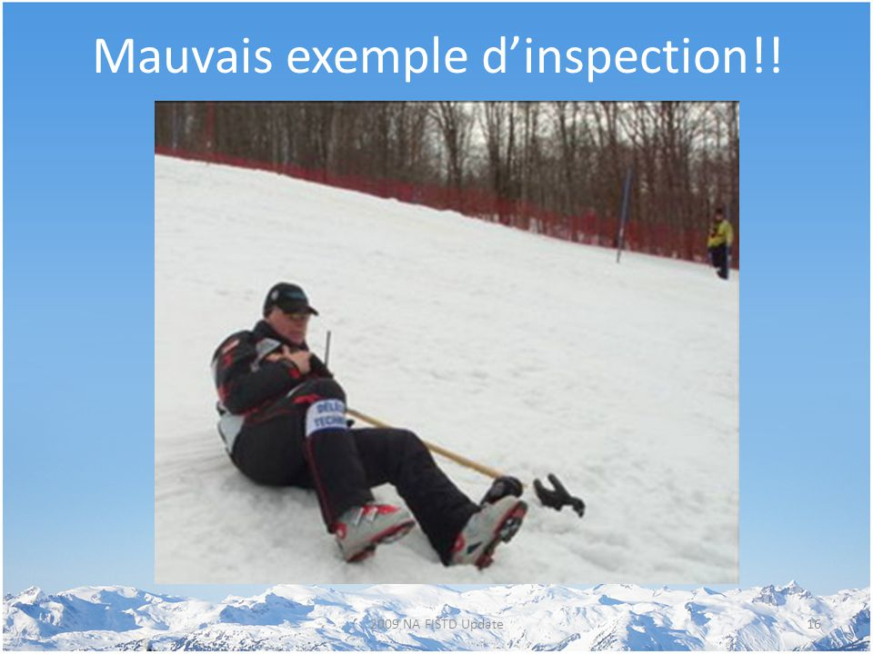 Mauvais exemple d'inspection!!