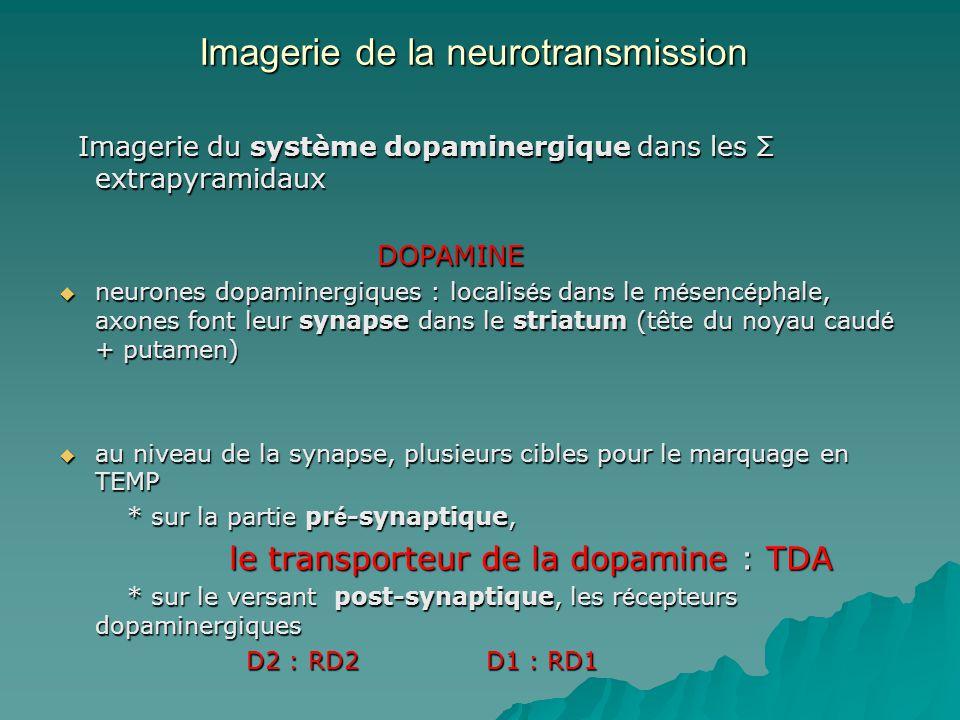 Imagerie de la neurotransmission